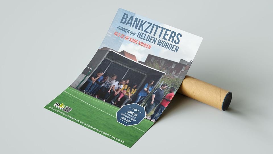 Solidariteitsprijs Bankzitters - poster